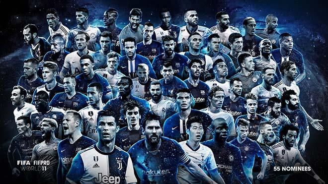Đội hình tiêu biểu thế giới: Liverpool & Man City áp đảo Ngoại hạng Anh, Barca số 1 - 1