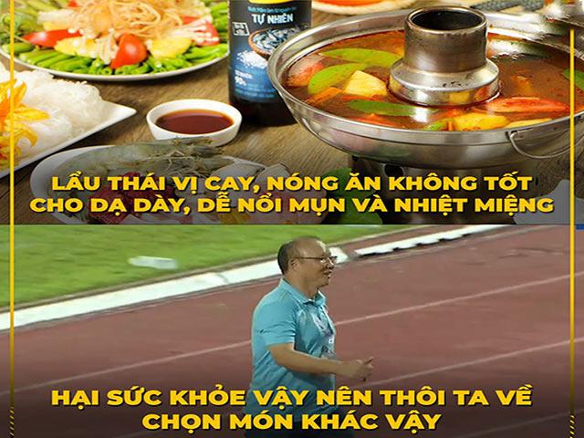 """Ảnh chế: Fan Việt Nam tiếc nuối vì không được ăn """"lẩu Thái"""""""