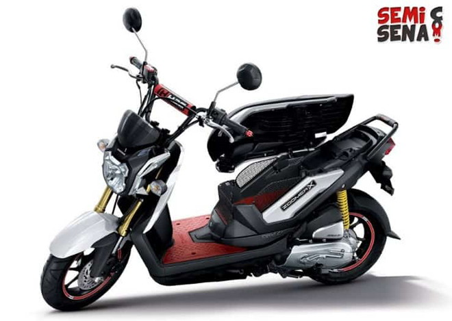 Honda Zoomer-X về Đông Nam Á, hút tín đồ yêu thích sự phong cách - 1