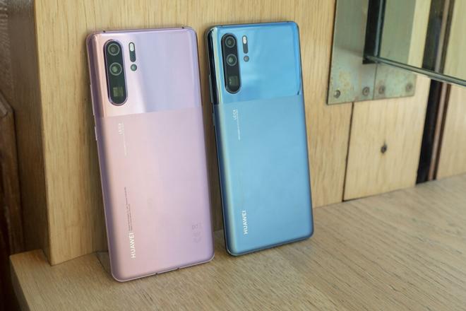 Ngất ngây trước ảnh thực tế 2 màu mới của Huawei P30 Pro - 1