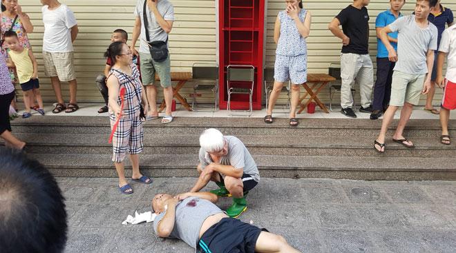 Nổ lớn ở chung cư HH Linh Đàm, nhiều người bị thương - 1