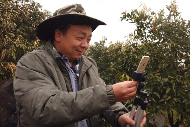 Zhong Haihui là một nông dân trồng cam ở ngoại ô Trương Gia Giới, Trung Quốc. Tuy nhiên, từ một nông dân chăm bẵm cây cối hàng ngày, giờ đây ông là một ngôi sao livestream trên mạng.