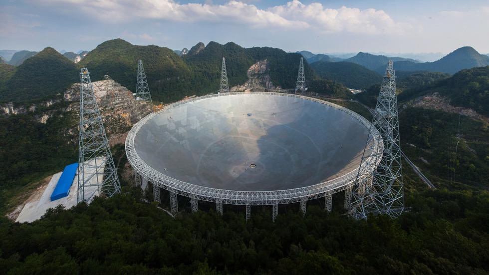 Kính viễn vọng Trung Quốc bắt được tín hiệu của người ngoài hành tinh? - 1