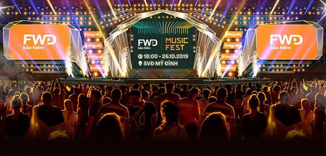 FWD Music Fest trở lại bùng nổ với quy mô hoành tráng tại thủ đô Hà Nội - 1