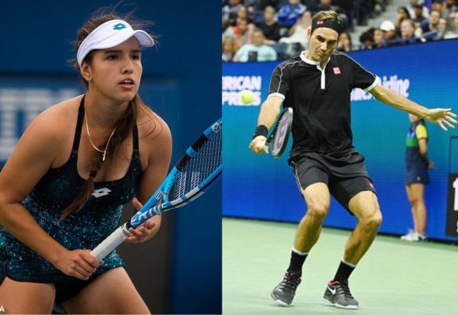 """Mỹ nhân 17 tuổi sung sướng vì vô địch US Open: Làm liều """"tỏ tình"""" Federer - 1"""