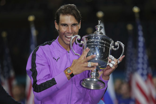 """Nadal tranh ngôi số 1 thế giới của Djokovic: Liệu có hủy """"đại sự""""? - 1"""