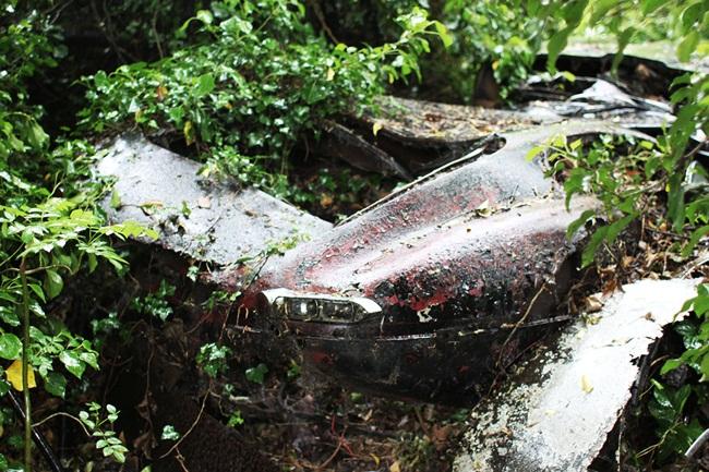 """Một chiếc xe cổ Jaguar E-Type đời năm 1964 được tìm thấy bị bỏ trong rừng nhiều năm. Hiện, nó đã được """"lột xác"""" trở thành chiếc xe tuyệt đẹp."""