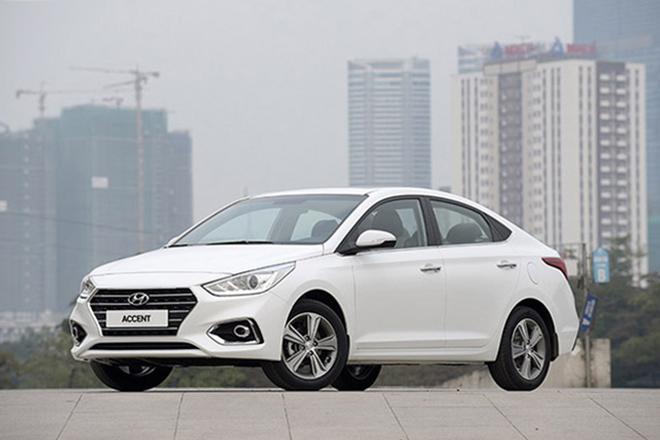 """Accent tiếp tục giữ """"ngôi vương"""" của Hyundai tại Việt Nam trong tháng 8/2019 - 1"""