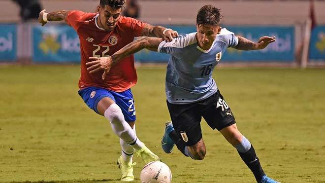 "Video highlight trận Mỹ - Uruguay: ""Truyền nhân Suarez"" mở màn, thế trận cởi mở - 1"