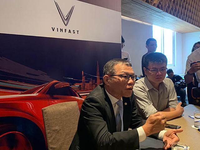 Tướng Võ Quang Huệ chia sẻ về lần đầu tham dự Vietnam Motor Show của VinFast