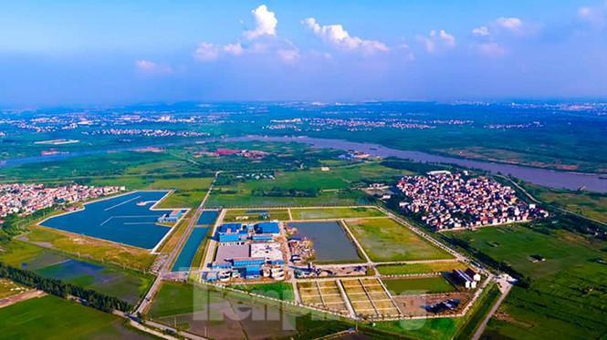 Cận cảnh nhà máy nước sạch lớn nhất Hà Nội có thể uống tại vòi - 1