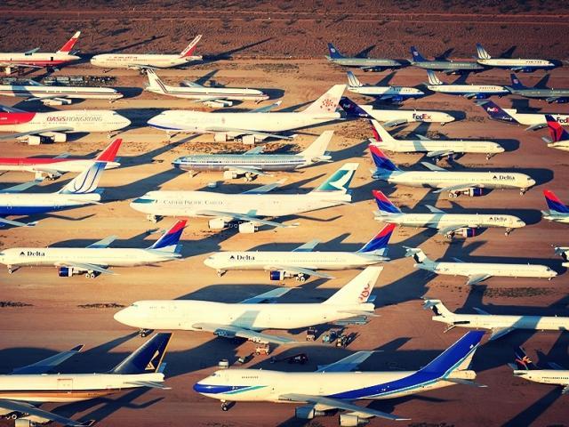 Bí ẩn nghĩa địa máy bay ở Mỹ với những câu chuyện về người ngoài hành tinh