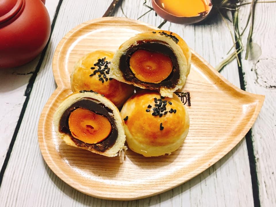 Cách làm bánh trung thu trứng muối vỏ ngàn lớp chuẩn vị Đài Loan - 1