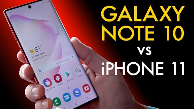 """Galaxy Note 10 và iPhone 11: Cuộc đua ngôi đầu của lớp """"thượng đẳng"""" - 1"""