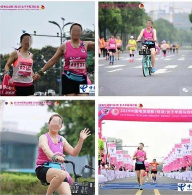 """Chấn động điền kinh Trung Quốc: Ngang nhiên đạp xe, trơ trẽn """"về nhất"""" - 1"""