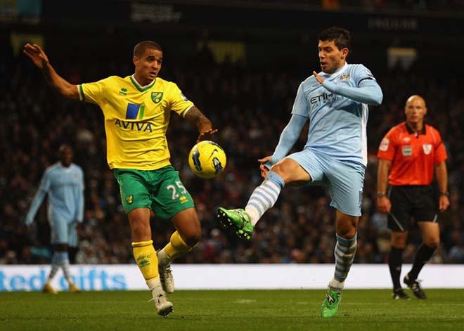 """Nhận định bóng đá Norwich - Man City: Sterling - Aguero """"lên đồng"""", nhà vua thị uy - 1"""