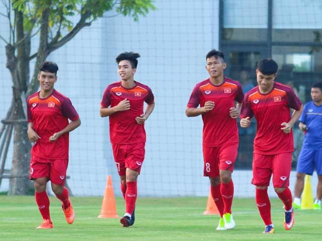 """U19 Việt Nam tập buổi đầu dưới thời siêu HLV Troussier: Ráo riết """"gieo sầu"""" Thái Lan - 1"""