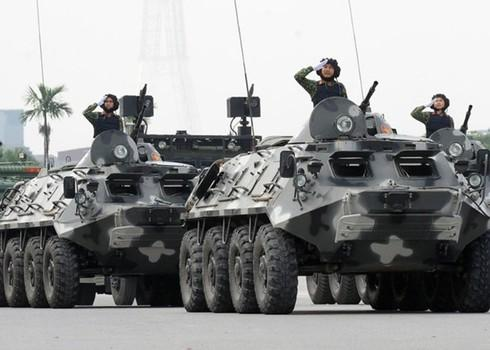 Hà Nội: Diễn tập thực binh tấn công đối tượng khủng bố, giải cứu con tin - 1