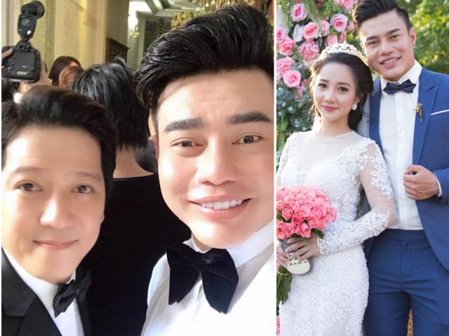 Vợ xinh đẹp của phù rể Trường Giang 'kê' giá cát-xê 500 triệu, ở nhà 7 tỷ là ai?