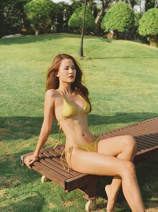 Hương Ly được biết tới là quán quân Nex Top Model Việt Nam, cô bất ngờ ghi danh tại Hoa hậu Hoàn vũ Việt Nam và nhận được sự cổ vũ lớn. Hương Ly sở hữu body được ví như búp bê di động Hà thành vì quá đỗi nóng bỏng.