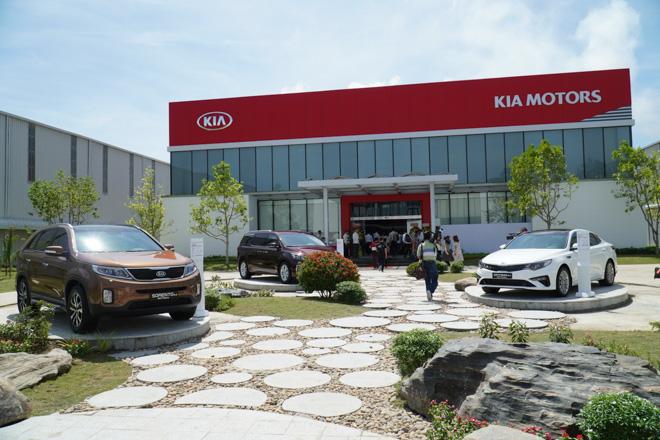 Khánh thành nhà máy THACO KIA vừa được nâng cấp và mở rộng - 1
