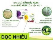 """Tin tức sức khỏe - Tinh chất mầm đậu nành Bảo Xuân - """"tiên phong"""" không biến đổi gen, đạt chuẩn GACP-WHO"""