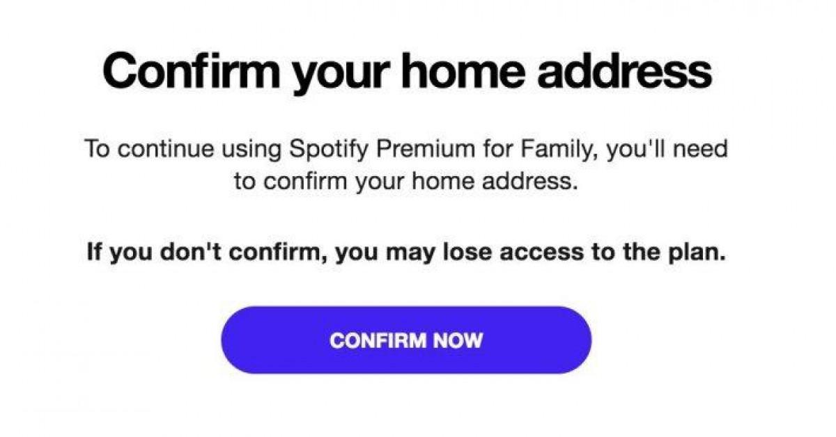 Spotify: Muốn dùng gói Family, cả 6 người phải chứng minh đang ở chung nhà - 1
