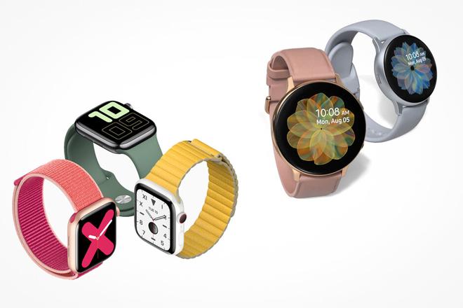 Apple Watch Series 5 và Galaxy Watch Active 2: Ai là người thắng cuộc? - 1
