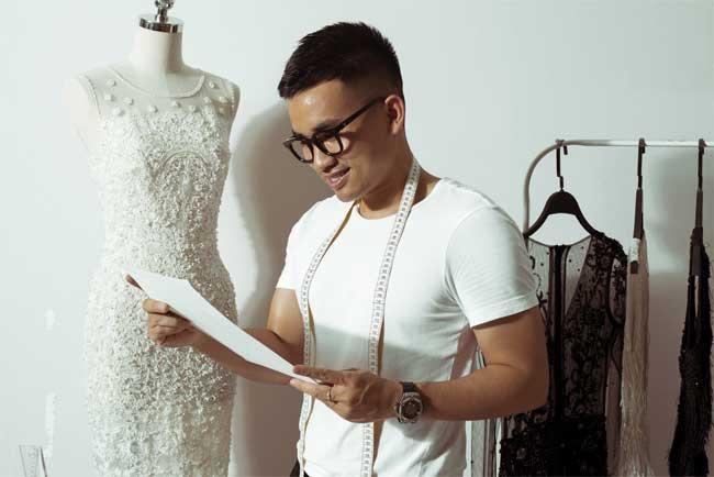 """Hồng Quế: """"Nàng thơ"""" của NTK Hà Duy trong show xuân hè - 1"""