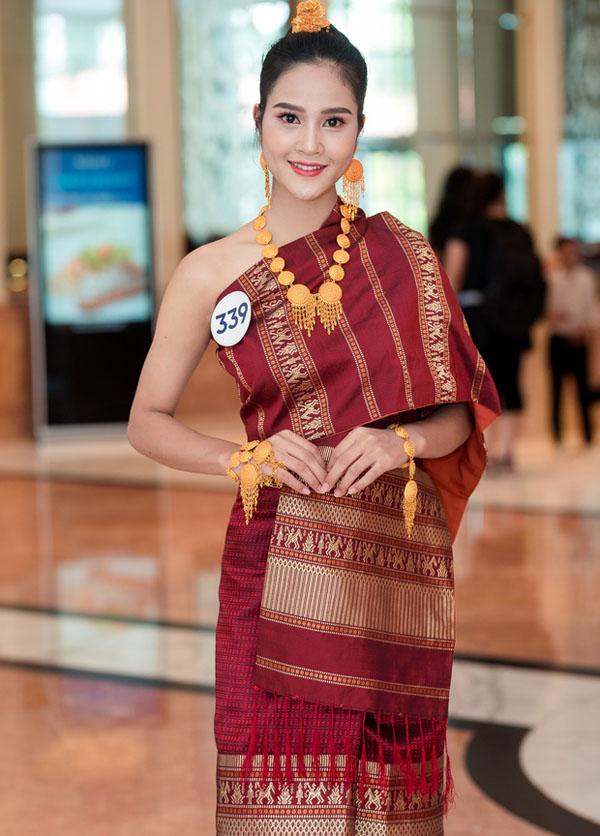 Cô gái gốc Lào xinh như mộng thi Hoa hậu Hoàn vũ Việt Nam - 1