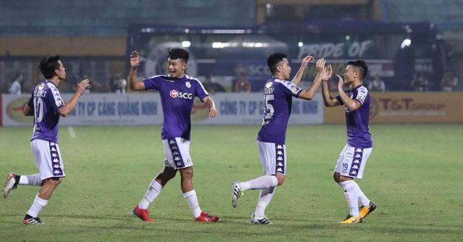 """""""Vua"""" V-League Hà Nội FC phong độ quá khủng: Vô địch trước mấy vòng đấu? - 1"""