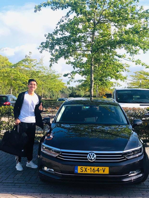 Đoàn Văn Hậu được cấp xe riêng tiền tỷ ở Hà Lan, sao Việt vào bình luận bất ngờ - 1