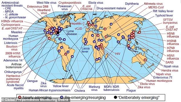 Đại dịch có thể lây lan khắp thế giới trong 36 giờ, khiến 80 triệu người chết - 1