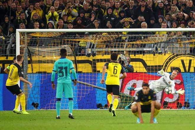 """Dortmund - Barcelona: """"Sát thủ"""" vô duyên, Messi vất vả - 1"""