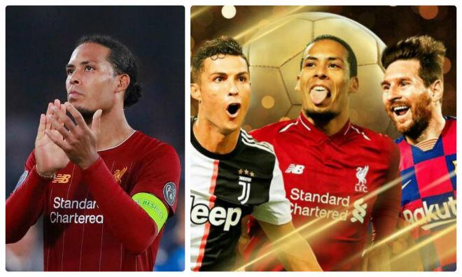 """Van Dijk siêu trung vệ gặp hạn: Lời nguyền """"kẻ thách thức"""" Ronaldo, Messi - 1"""