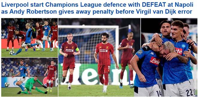 """ĐKVĐ Liverpool thua sốc ra quân cúp C1: Báo chí """"tấn công"""" Van Dijk - Klopp - 1"""