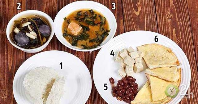 Bữa sáng của quốc gia nào lành mạnh nhất thế giới?