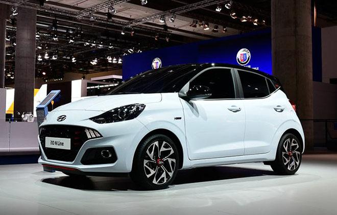 Cận cảnh Hyundai i10 N-Line 2020 với thiết kế thể thao và năng động hơn - 1