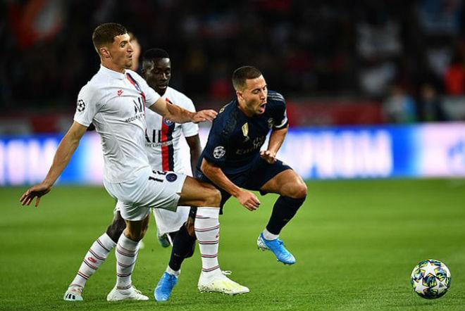 """Hazard - Real ra mắt thảm họa cúp C1: Huyền thoại MU """"xát muối nỗi đau"""" - 1"""