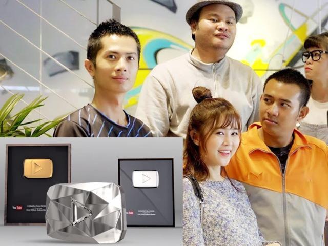 """Hình ảnh nút kim cương YouTube đầu tiên của Việt Nam được chủ nhân """"đập hộp"""""""