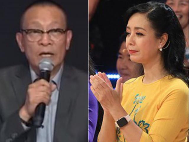 """Bị MC Lại Văn Sâm """"khích"""", NSƯT Chiều Xuân có quyết định ngay trên sóng truyền hình"""