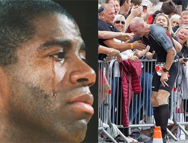 """Cầu thủ đang thi đấu khóc nức nở vì bệnh HIV: """"Vết xe đổ"""" của siêu sao - 1"""