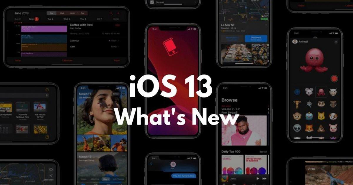 iOS 13 vừa ra mắt, đây là các tính năng mới nổi bật nhất - 1