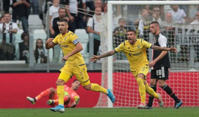 Video Highlight Match Juventus Hellas Verona Ronaldo Scored Scored 90 Minutes Round 4 Serie A 24h Football