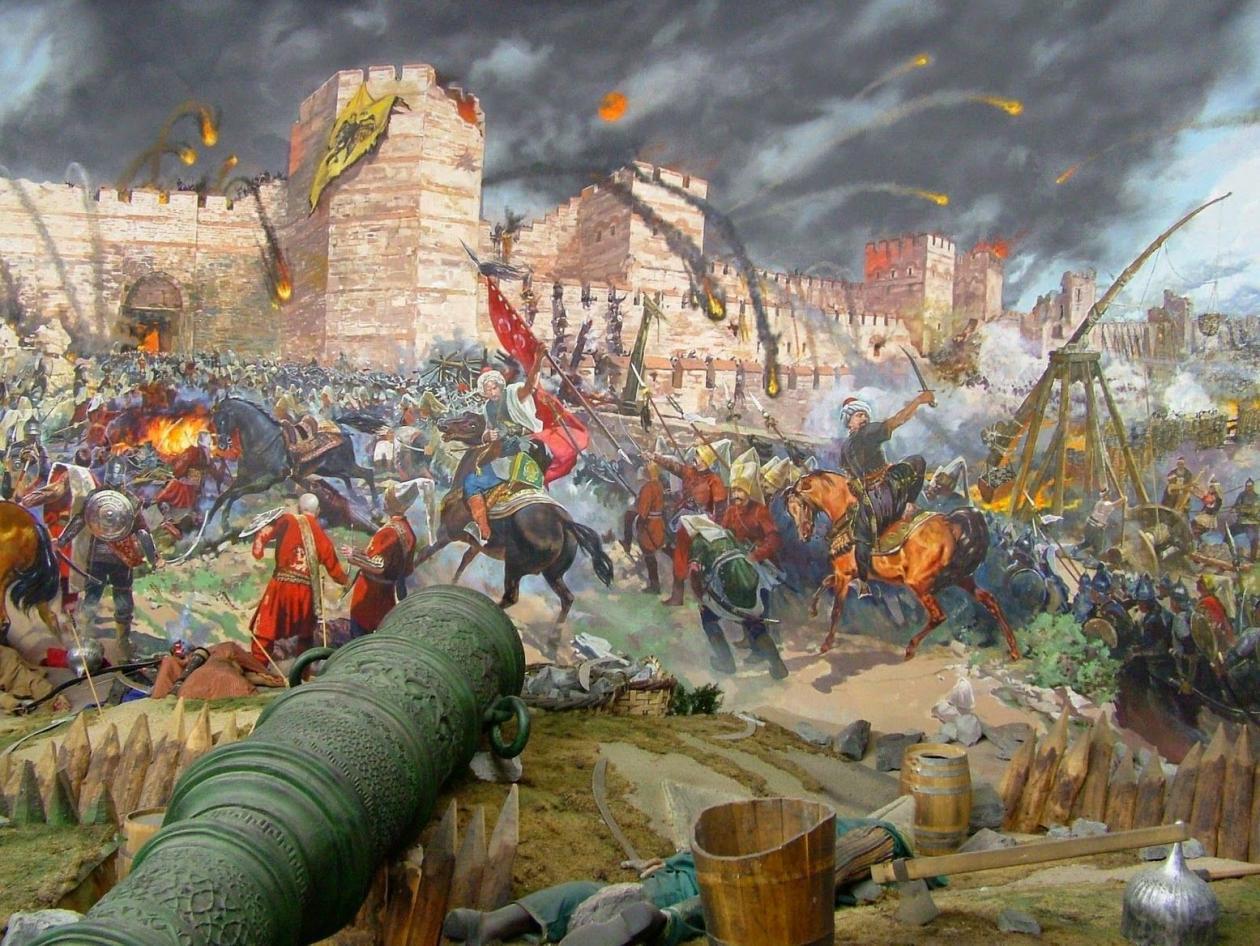 Đế chế hùng mạnh bậc nhất lịch sử đập tan kinh đô của kẻ thù truyền kiếp nhờ súng bắn đạn nặng 6 tạ - 1