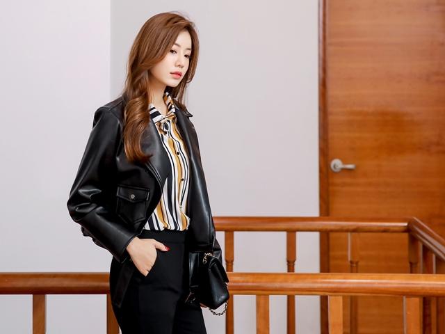 Áo khoác công sở không chỉ có blazer