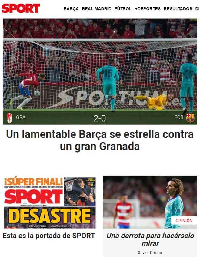 Barca thua thảm: Báo nhà chỉ trích Griezmann, đòi đuổi cổ HLV Valverde - 1
