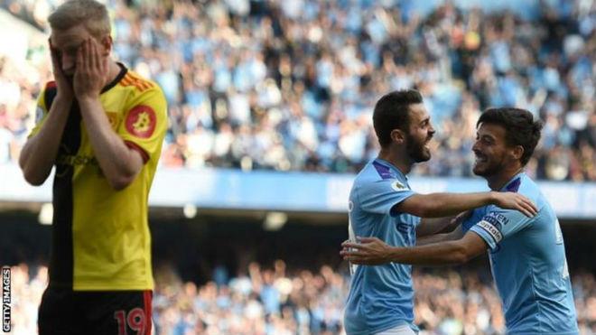 Man City vùi dập đối thủ Ngoại hạng Anh 8-0: Đã phá được kỷ lục của MU? - 1