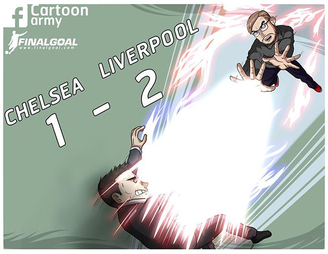 Liverpool đè bẹp Chelsea, vững vàng ngôi đầu bảng.