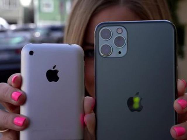 Màn so kè chất lượng camera iPhone 11 Pro Max với iPhone đời… 2007